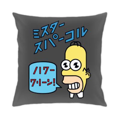 Подушка Симпсоны: Японский Гомер