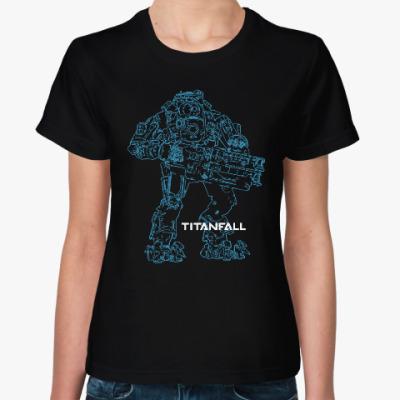 Женская футболка Титанфол