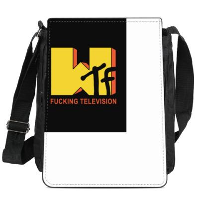Сумка-планшет WTF (в стиле MTV)
