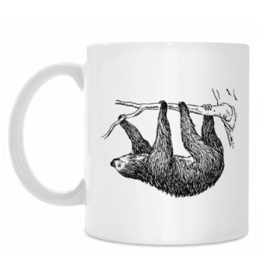 Кружка Ленивец