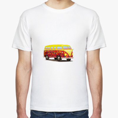 Футболка Автобус для хиппи
