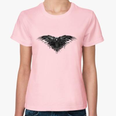 Женская футболка Игра Престолов: Ворон