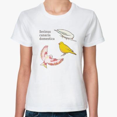 Классическая футболка Пернатые