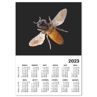 Календарь Пчела / Bee