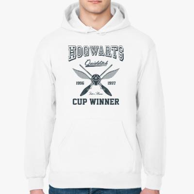Толстовка худи Hogwarts Quidditch Cup Winner