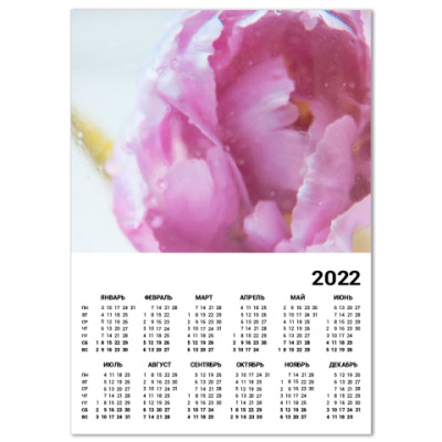 Календарь Акварельный цветок