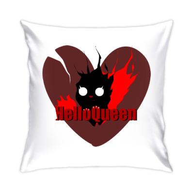 Подушка Hello Queen