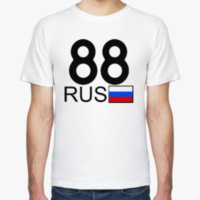 Футболка 88 RUS (A777AA)