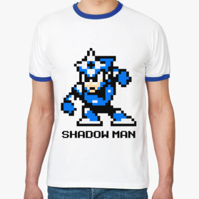 Футболка Ringer-T  'Shadow Man'