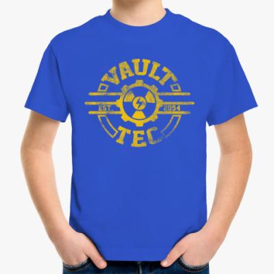 Детская футболка Fallout. Vault-Tec