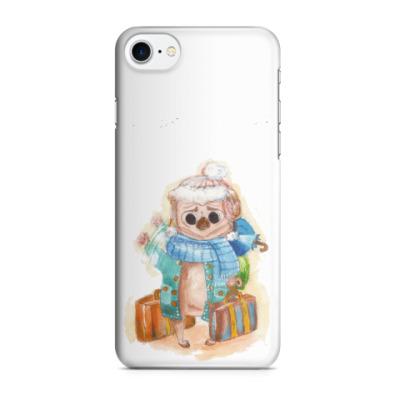 Чехол для iPhone 7/8 мопс
