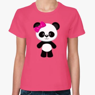 Женская футболка Panda Girl