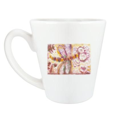 Чашка Латте Стрекоза из м/ф Винни-Пух