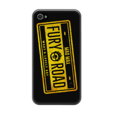 Чехол для iPhone 4/4s Fury Road