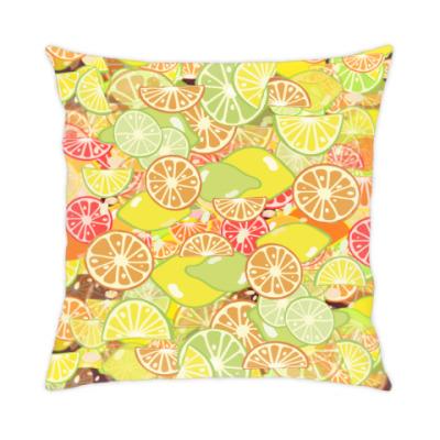 Подушка Апельсиновая