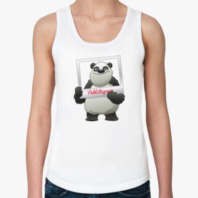 Женская майка Фото панда