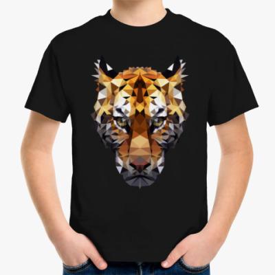 Детская футболка Тигр / Tiger