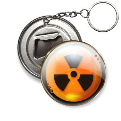 Брелок-открывашка  'Радиация'