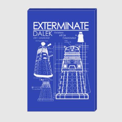 Холст Dalek plan