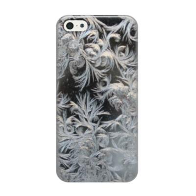 Чехол для iPhone 5/5s морозный узор