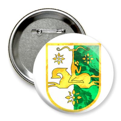 Значок 75мм Герб Абхазии