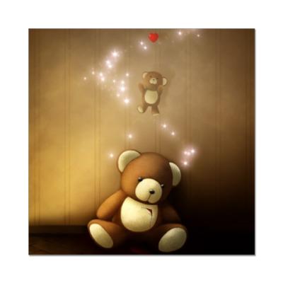 Наклейка (стикер) Душа медведя