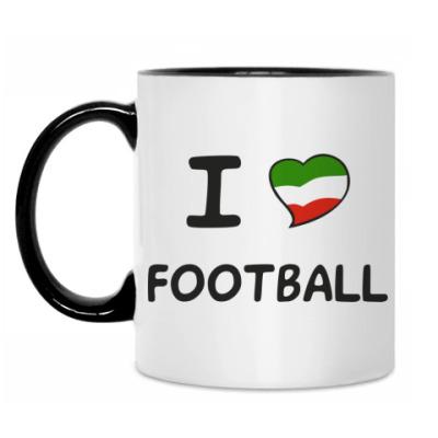Кружка Я люблю итальянский футбол