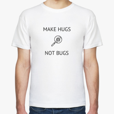Футболка MAKE HUGS NOT BUGS