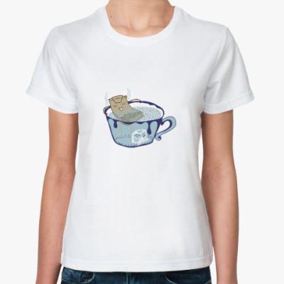 Классическая футболка Чайная церемония.