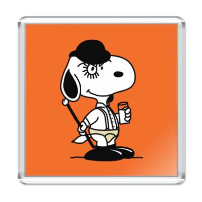 Магнит Snoopy Clockwork Orange