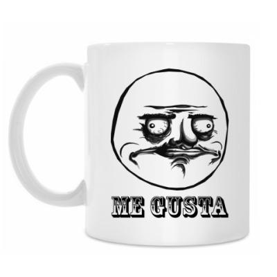 Кружка «ME GUSTA»