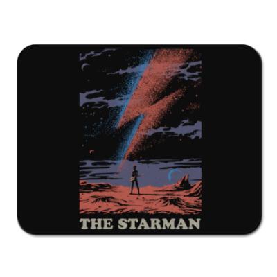 Коврик для мыши David Bowie Starman Дэвид Боуи