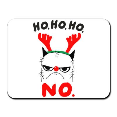 Коврик для мыши Happy New Year Grumpy Cat