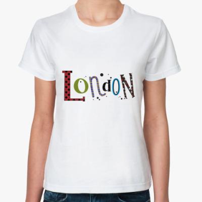 Классическая футболка 'Лондон'