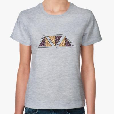 Женская футболка Этника