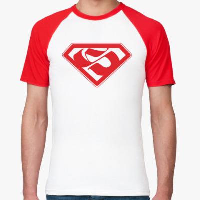 Футболка реглан Superman