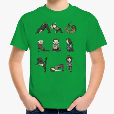 Детская футболка The Walking Dead Йога