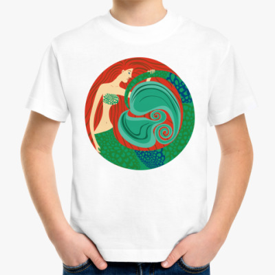 Детская футболка 'Русалка'