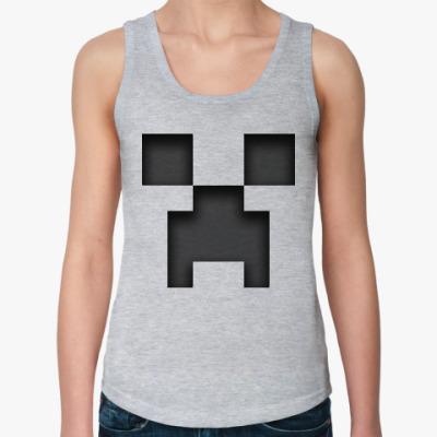 Женская майка Minecraft Creeper