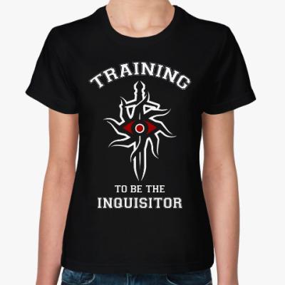 Женская футболка Dragon Age. Инквизиция