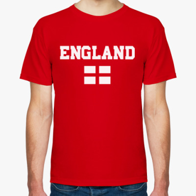 Футболка Болеем за Англию!