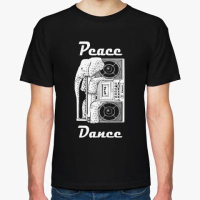 Футболка Peace dance