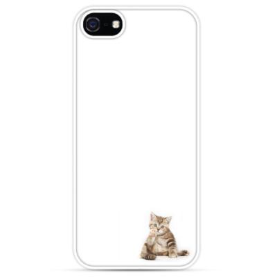 Чехол для iPhone Милый котик-котенок