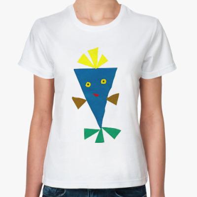 Классическая футболка Марсианин