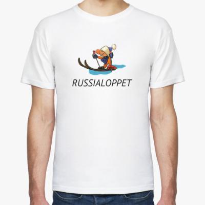Футболка Лыжник RUSSIALOPPET
