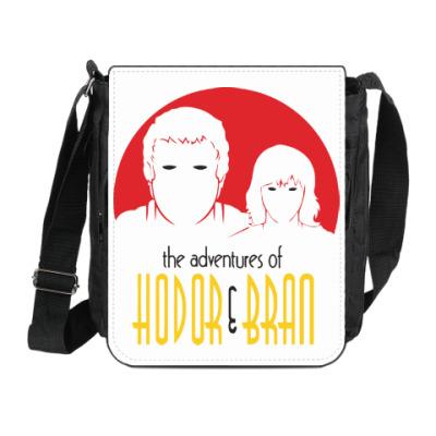 Сумка на плечо (мини-планшет) Hodor & Bran