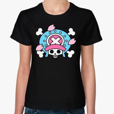 Женская футболка Ван Пис. Тони Тони Чоппер