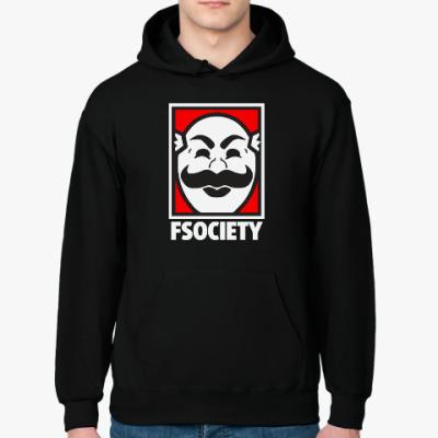 Толстовка худи Mr Robot - Fsociety - E Corp