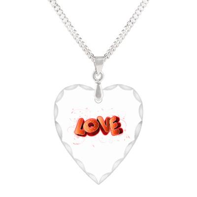 Кулон 'сердце' Любовь