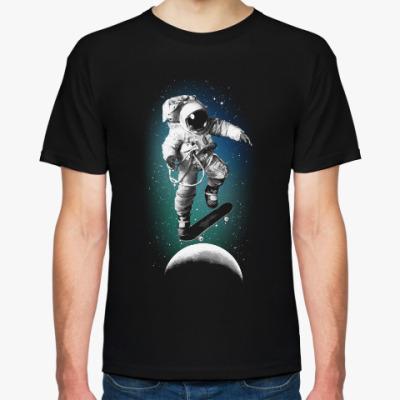 Футболка Astronaut on skateboard